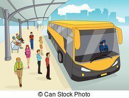 ターミナル-バス-漫画-ベクタークリップアート_csp32287810.jpg
